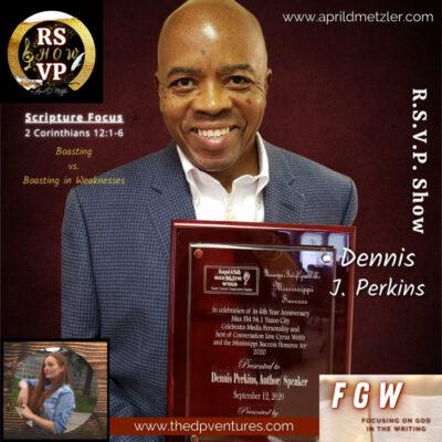 RSVP Show – Season 1 Ep. 9 – Dennis Perkins