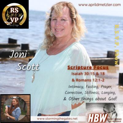 RSVP Show – Season 1 Ep. 10 – Joni Scott
